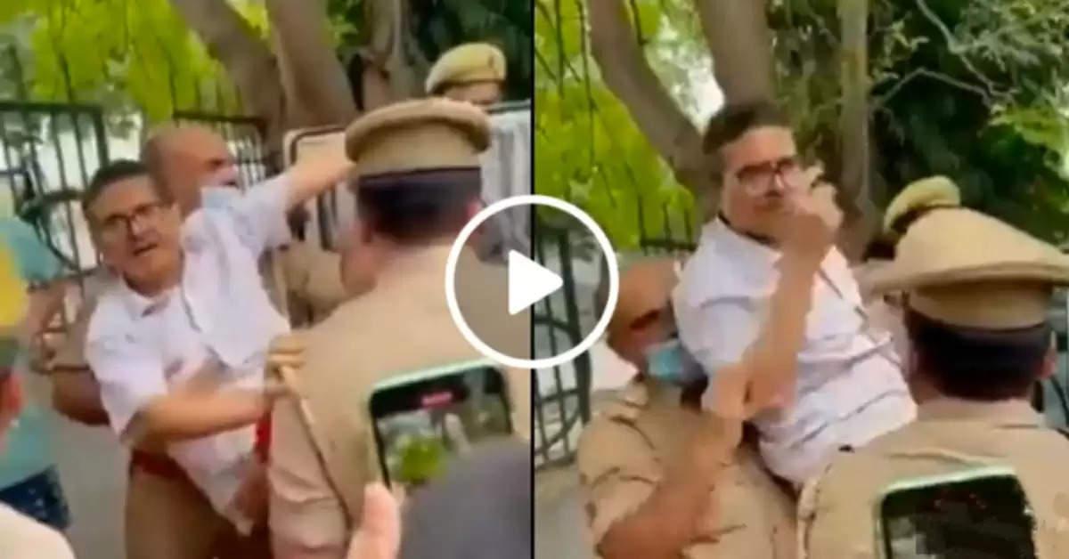 Amitabh thakur arrested