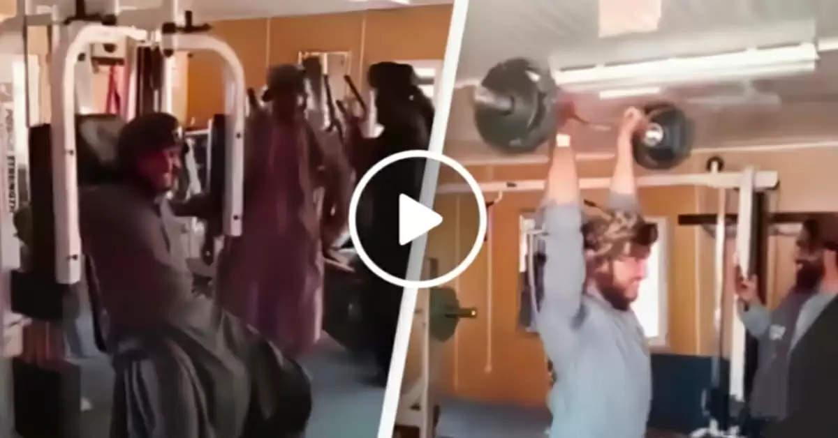 Taliban enters gym