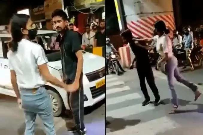 Cab driver slapped