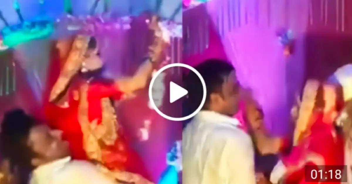 Bride slaps man during marriage