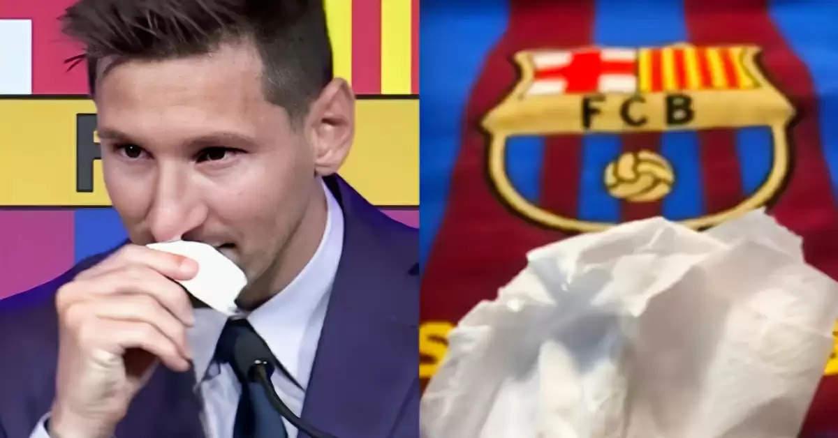 Messi tissue paper